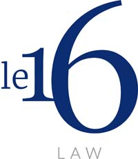 Le 16 Law company logo